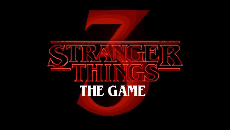 Logo for Stranger Things 3: The Game