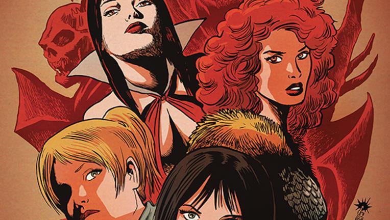 Vampirella Betty Veronica Hero