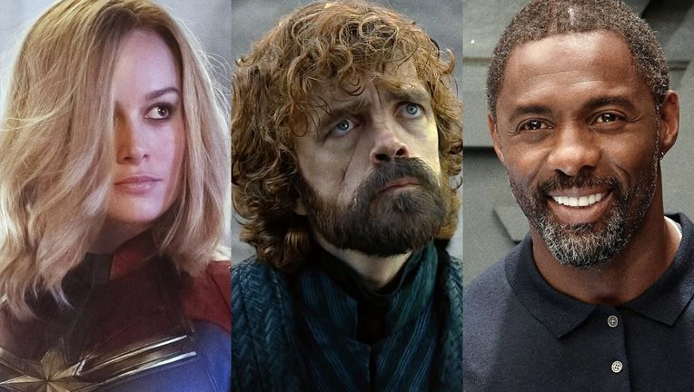 Captain Marvel, Game of Thrones, Idris Elba