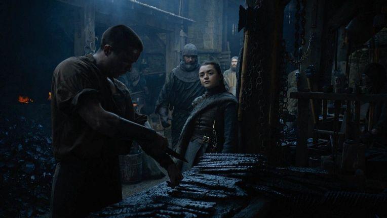 Game of Thrones Season 8 - Maisie Williams and Joe Dempsie