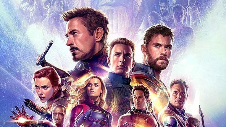 Avengers: Endgame official IMAX poster