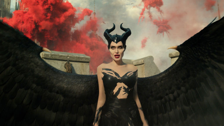 WATCH: Maleficent the dragon bursts into flames during