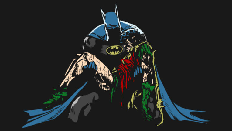 Death in the Family Batman Robin