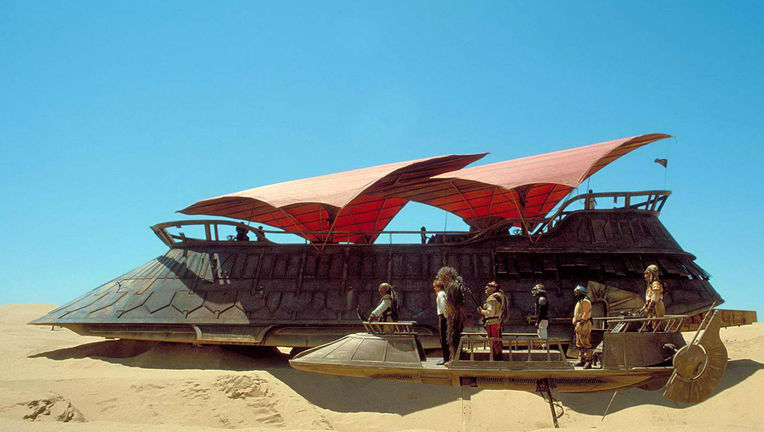 star wars sail barge
