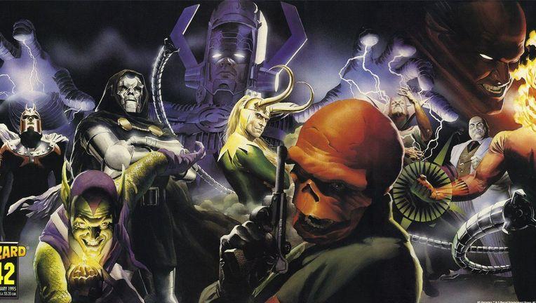 Marvel Villains by Alex Ross - Wizard 42