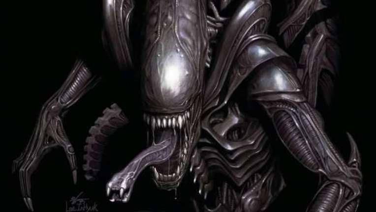Alien Queen Sketch