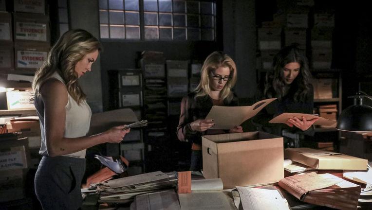 Arrow Felicity Laurel