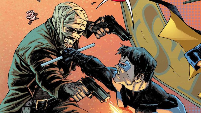 Batman Prelude to the Wedding Nightwing vs Hush 1 Hero