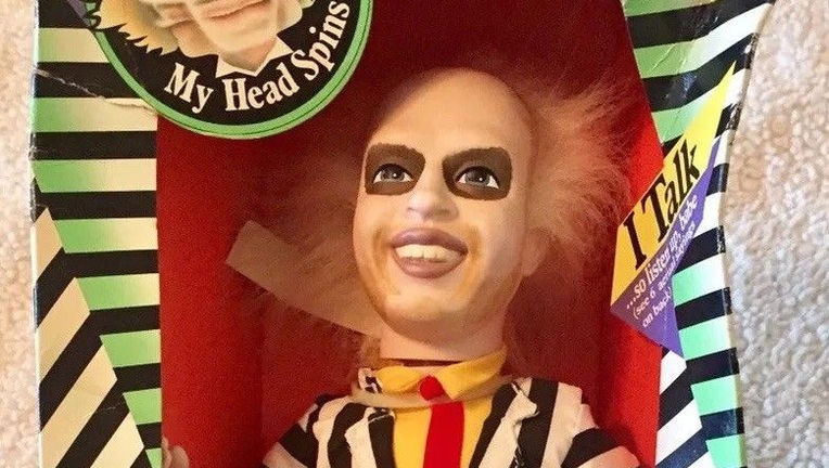 beetlejuice kenner doll