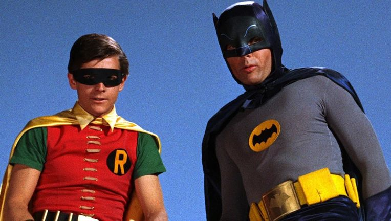 Burt Ward and Adam West, Batman