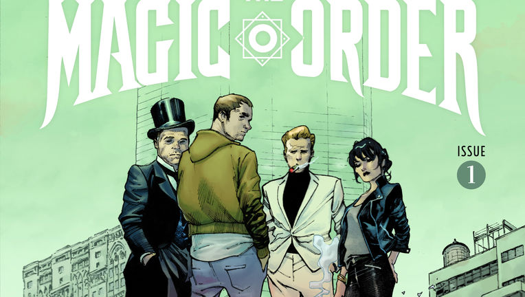 Magic Order Issue 1 cover