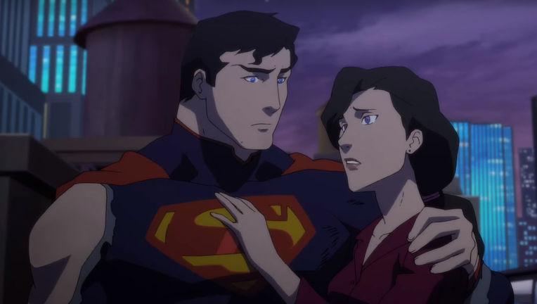 Death of Superman trailer Hero image