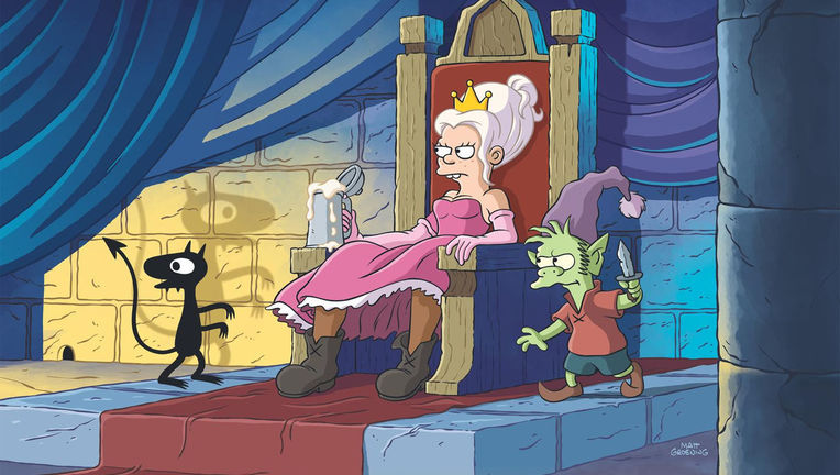 Disenchantment Princess Bean