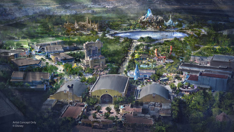 Disneyland Paris concept