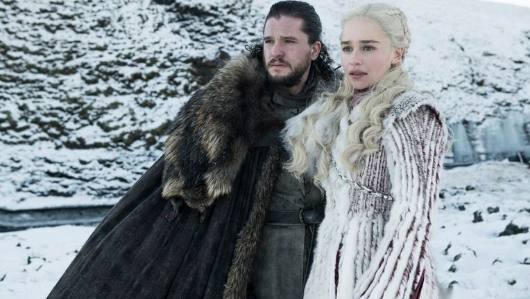 Game of Thrones Season 8 Jon and Daenerys