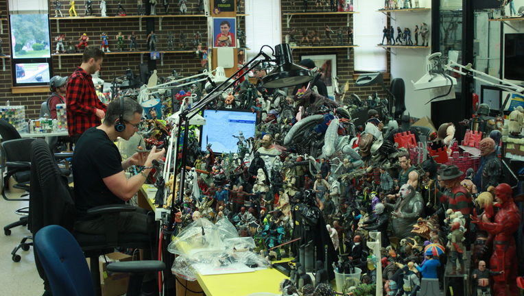 inside neca studio