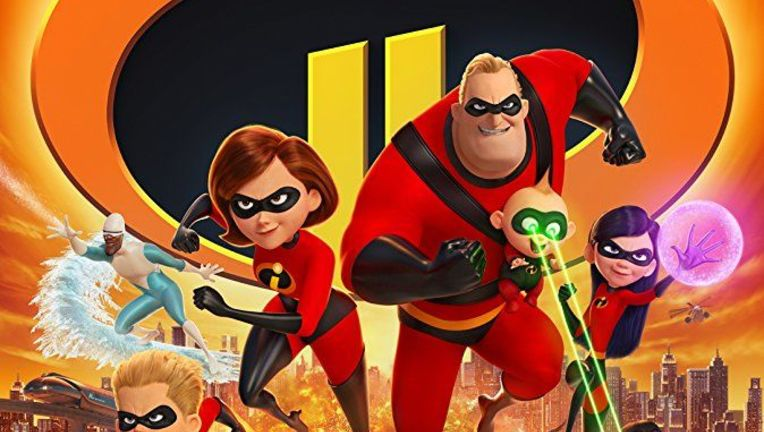 Incredibles 2 poster