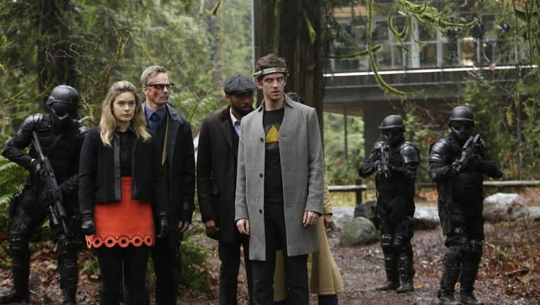 Legion- David, Rachel, Cary, and Ptonomy with Division 3