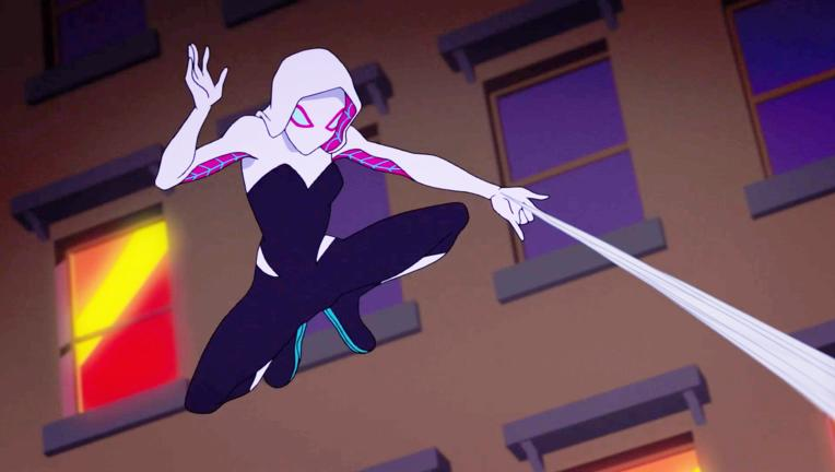 Ghost Spider Marvel Rising