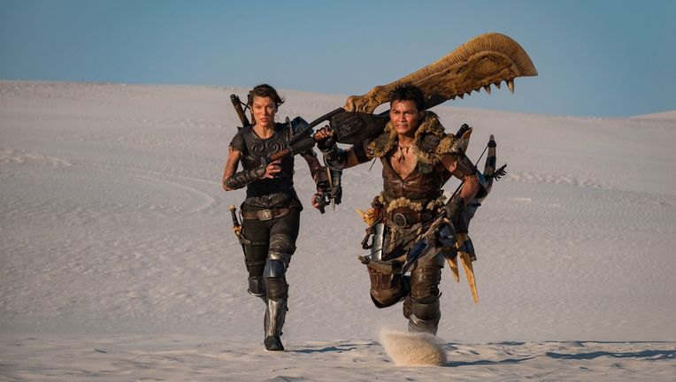 Milla Jovovich Tony Jaa MONSTER HUNTER