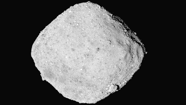 The asteroid Bennu, seen by the OSIRIS-REx spacecraft from a distance of 65 km on Nov. 27, 2018. Credit: NASA's Goddard Space Flight Center/University of Arizona