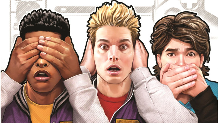 Planet of the Nerds #1 Cover