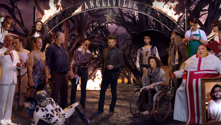 Preacher season 3 Angelville cast
