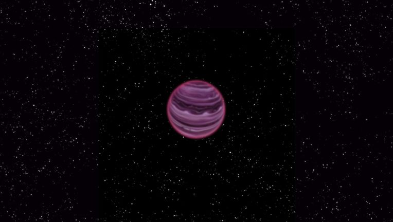Artist's conception of the free-floating planet PSO J318. Credit: MPIA/V. Ch. Quetz