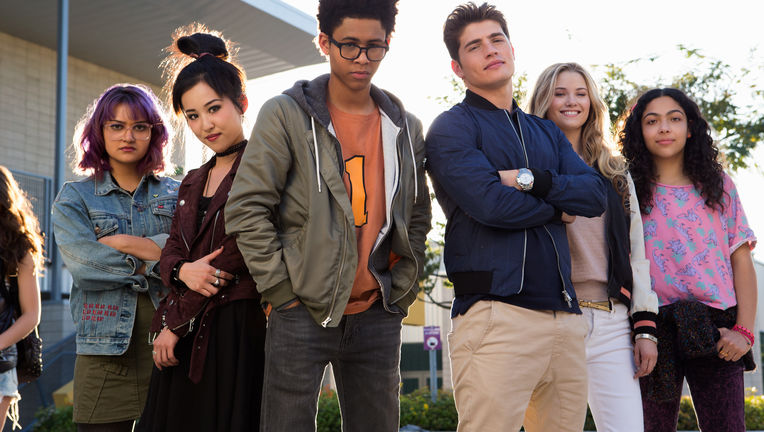 Marvel's Runaways - Allegra Acosta and cast - Hulu