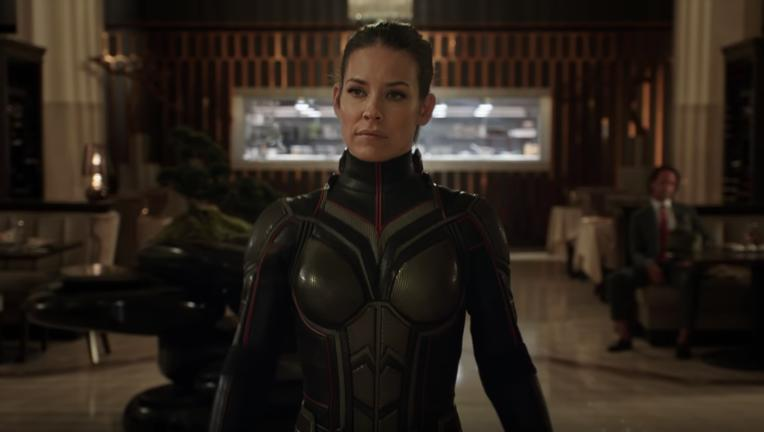 Hope van Dyne, Ant-Man and the Wasp