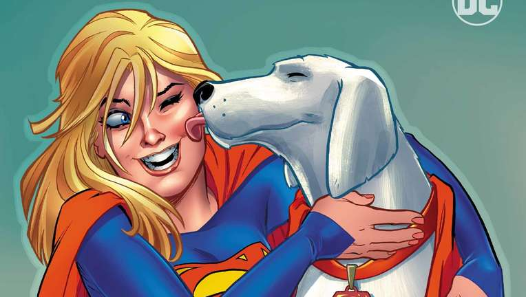 Supergirl #21 Variant Cover