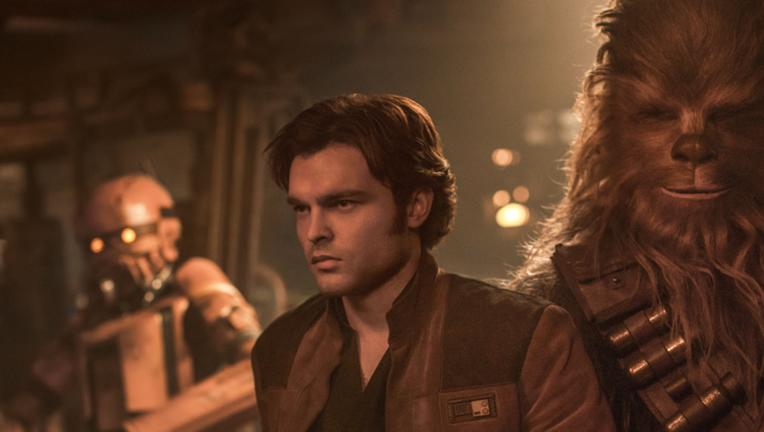 Han Solo, Chewbacca — Solo: A Star Wars Story