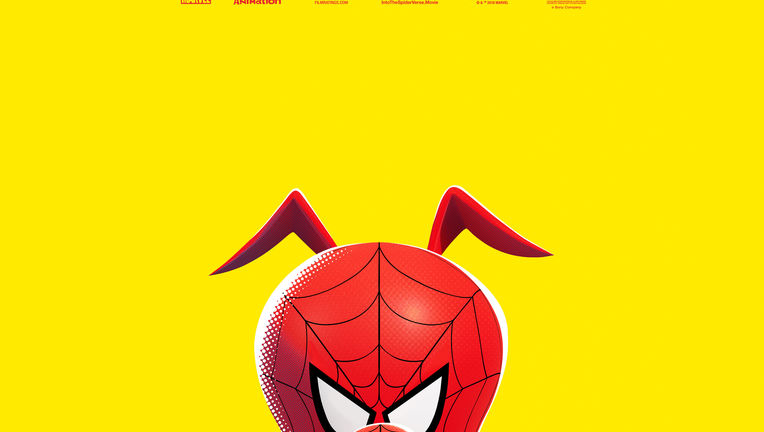 Spider-Man: Into the Spider-Verse Spider-Ham poster