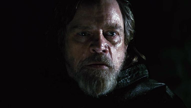 Star Wars The Last Jedi Luke closeup hero