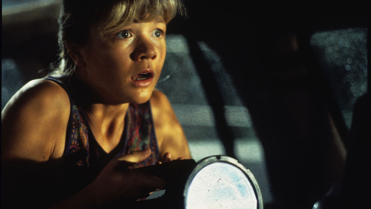 Ariana Richards as Lex in Jurassic Park