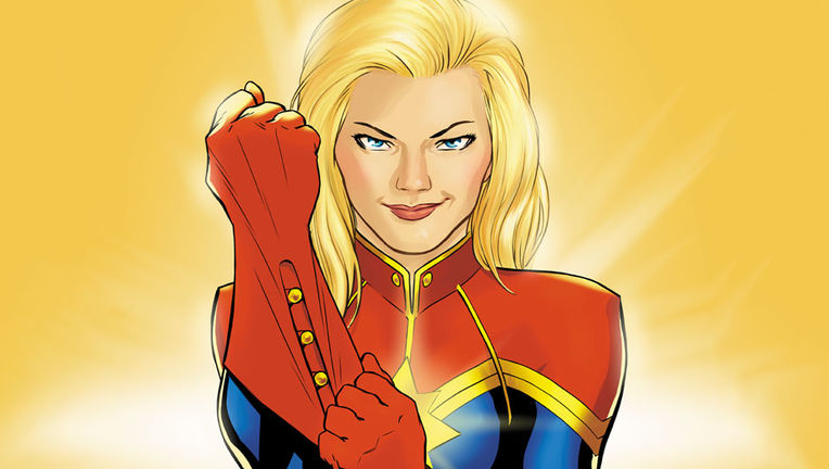 Captain Marvel comic