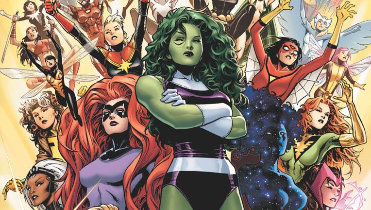 A-force Marvel Comics