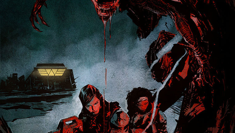 Aliens: Resistance #1 Cover