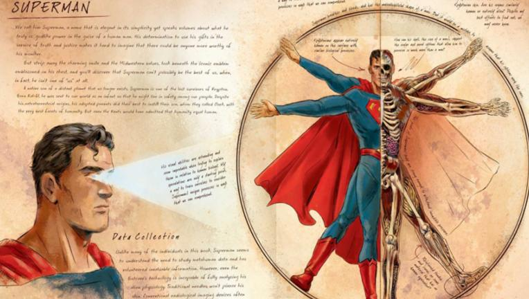 DC Comics Anatomy of a Metahuman, Superman
