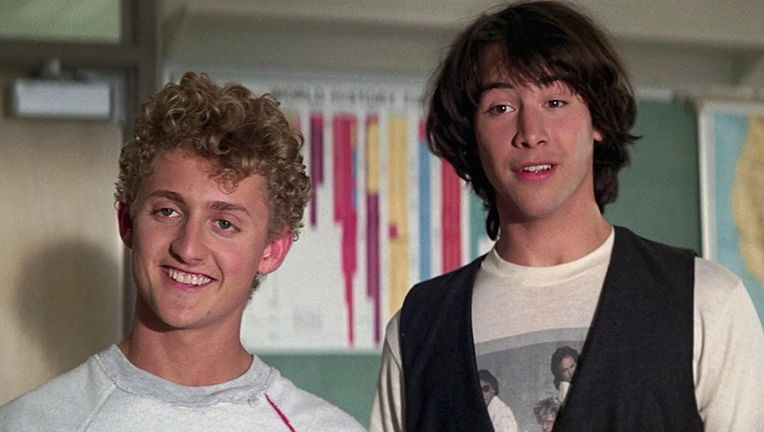 bill and teds excellent adventure alex winter keanu reeves
