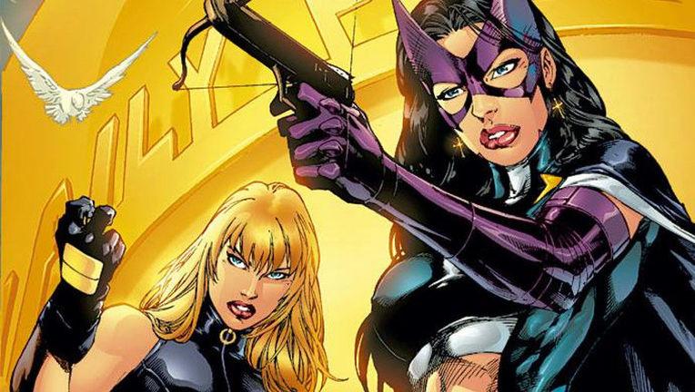 Black Canary and Huntress