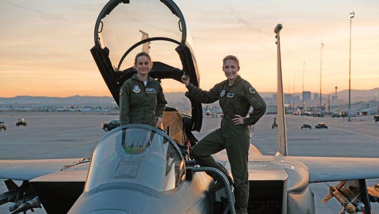 Captain Marvel Brie Larson Pilot Training