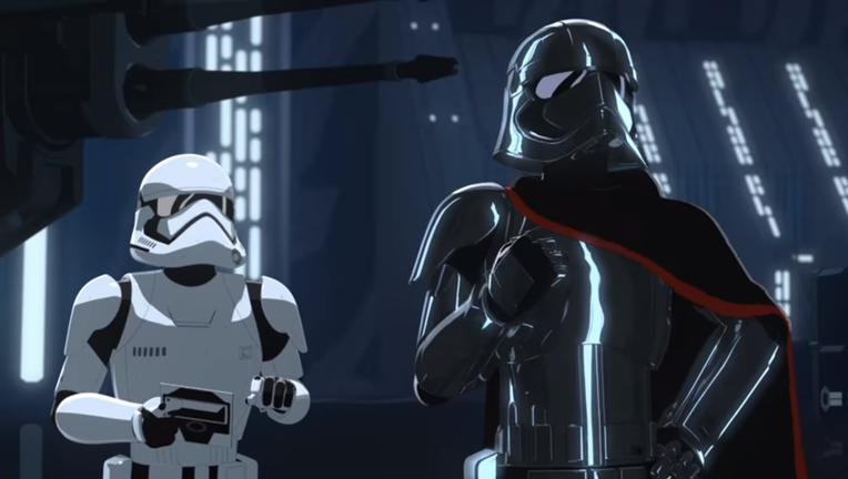 captain phasma star wars resistance