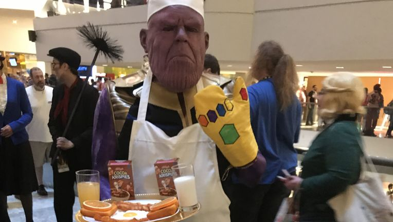 DragonCon cosplay: Chef Thanos