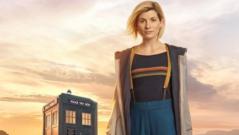 Doctor Who Jodie Whittaker Tardis