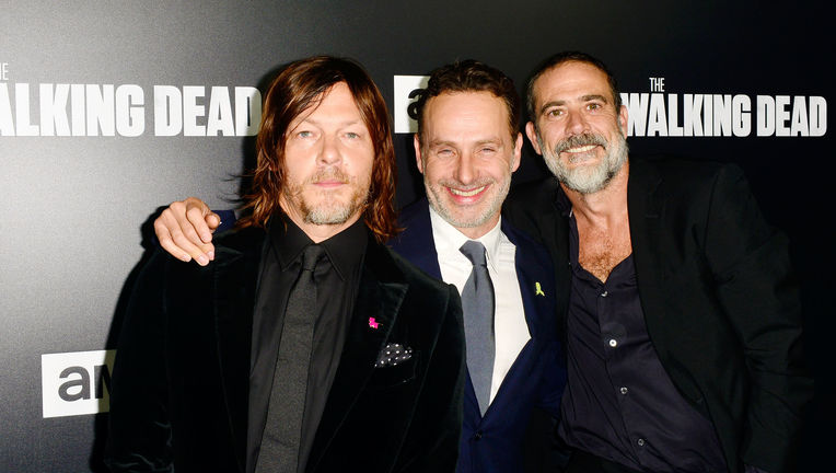 The Walking Dead Andrew Lincoln Jeffrey Dean Morgan Norman Reedus
