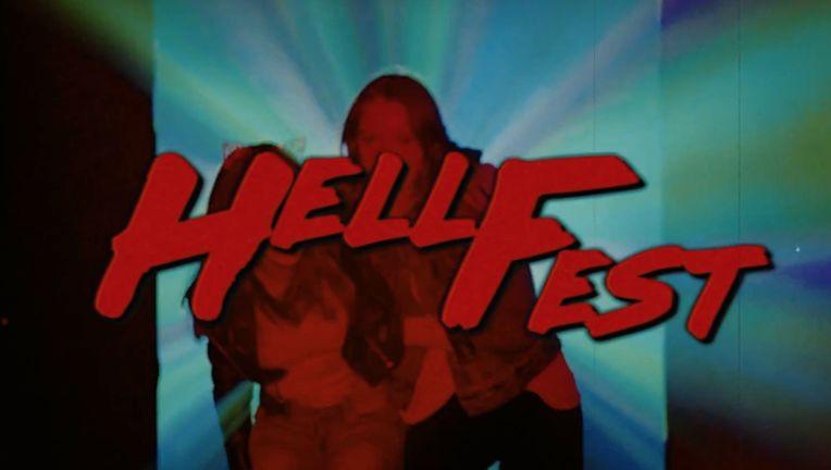 Hell Fest retro title