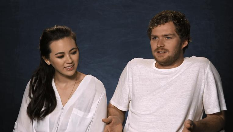 Iron Fist Jessica Henwick Finn Jones SYFY WIRE Screengrab