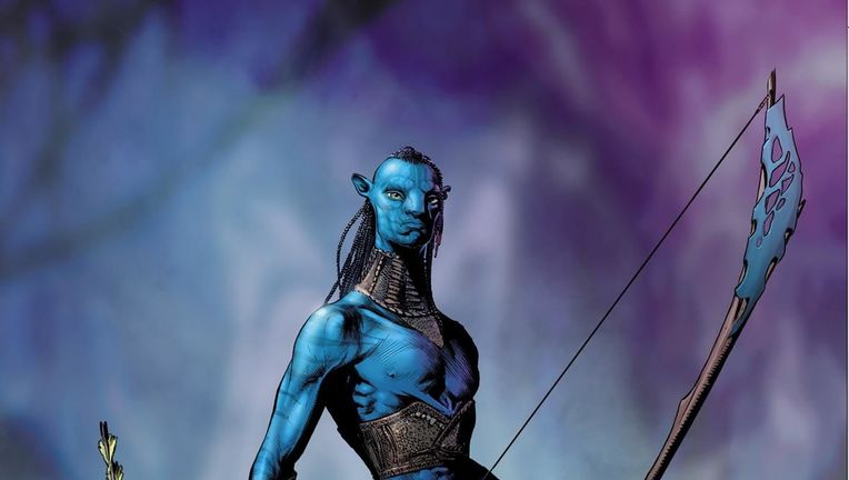 Avatar James Cameron comic