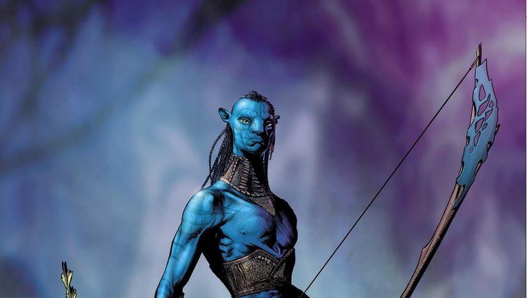 Avatar James Cameron comic